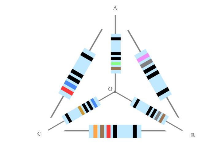 Trasformazioni Triangolo-Stella e Stella-Triangolo di resistenze